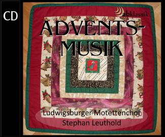 CD-Cover Adventsmusik mit dem Ludwigsburger Motettenchor am 1.12.2013 in Poppenweiler
